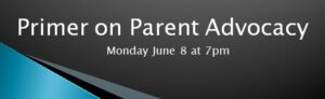 PLACE NYC Event: Primer on Parent Advocacy