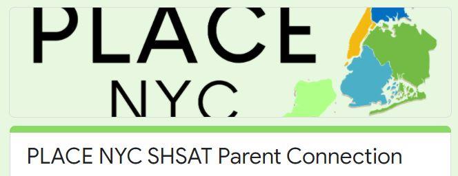 SHSAT Parent Connection
