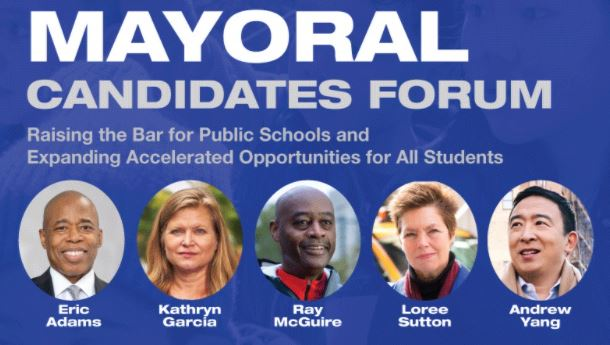 PLACE NYC Hosts Education First Mayoral Candidate Forum – Updated Jan 15, 2021.